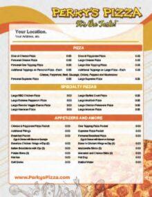 1 Page Menu Flyer-Orange-Gold-Sm